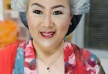 Make Hair Do For Ibu Jendral Mamahid by Josi David Professional & Wedding Make up Artist