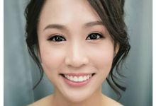 Korean Bridal Make Up And Hairdo by yukifangmakeup