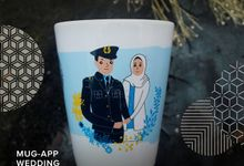 Mug V Wedding R&A by Mug-App Wedding Souvenir