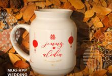 Mug Meme Wedding Jemmy Dan Alodia by Mug-App Wedding Souvenir