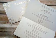 Kartu Undangan by Manis Manja Wedding