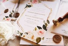 Sweet Rose Invitation by PurityCard