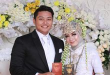 Mr. Hidayat & Mrs. Meysuci by Ventlee Groom Centre