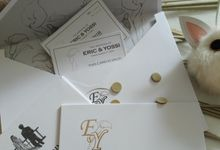 Eric & Yossi Wedding Invitation by JN Invitation