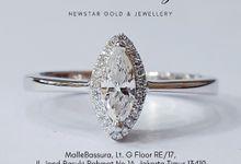 Engagement Ring Diamond by Newstar Gold & Jewellery