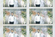 Bianca & Taufan Photostrip by Austin Photobooth