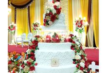 7 Tiers Wedding Cakes by FOREVER CAKE