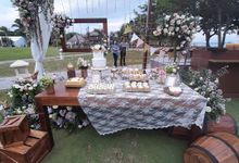 Wedding Cake & Sweet Corner by Moia Cake