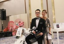Our Emcees Alvin Tjondro & Eveline Ong by BERN MUSIC SIGNATURE