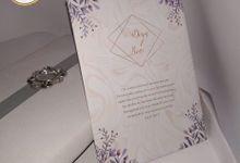 PUTRI & ARISANTO (Mauve-Golden Ornament Box Luxury) by Sanggar Undangan