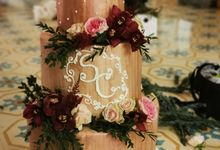 Something In Rose Gold by Sugaria cake