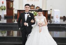 Mr. Chrysius & Mrs. Decha Wedding by Ventlee Groom Centre