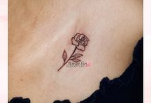 Semi Permanent Tattoo by AngeLin Bridal