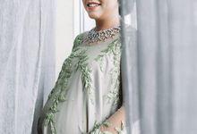 Sister Dress of Verina and Dauri Wedding by Pamella Bong