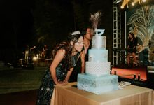 Sweet 17th Birthday Cake by Moia Cake