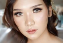 Prewedding - Wedding Makeup (NATURAL GLAM) by AngeLin Bridal