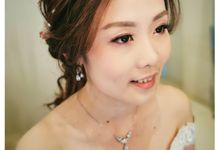 Bridal Makeup And hairdo by yukifangmakeup