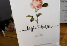 Undangan Logie & Beta by JN Invitation