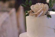 The Wedding Cake Of Rudy & Shiela by Moia Cake