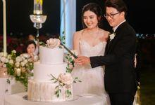 The Wedding Cake Of Rudy & Shiela by Moia Cake