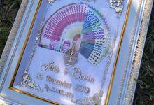 Mahar Pernikahan Akrilik Gold by aaha_mahar_pernikahan