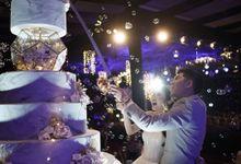 Wedding : LUKE & AURELLIA by Evergreen Cake Boutique