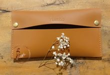 Amber - tissue Cover by PERKISS Leather Gift & Favor