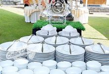 Wedding nanda by Calia Catering