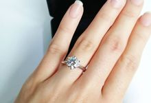 Solitaire In White Gold Setting by The Diamond Consultants