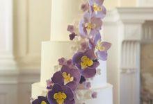 wedding cake by Nisha cake surabaya