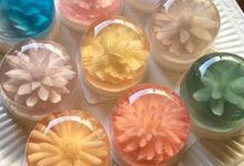 Flower Jelly Soap by MAGA Indonesia