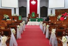 Wedding Gpib Gambir by nanami florist