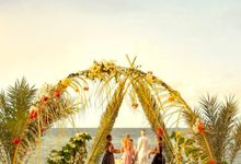 Intimate Wedding in Island by Sudamala Resorts