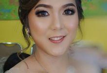 Makeup Wedding For Mrs Claudya by VM Makeupartist
