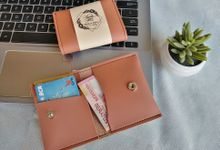 Souvenir Pernikahan Card Wallet 02 by Fie Handcraft