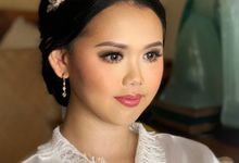 Wedding by CHERIS'H makeup artist