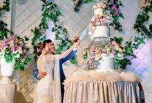 Jerald (Singapore) & Paulina (Singapore) by Evergreen Cake Boutique