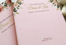 Undangan Brian & Livi by JN Invitation