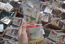 600 PCS WEDDING SOUVENIR DHIDHIT & ALIN by Mycactusid