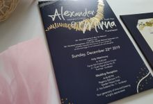 Undangan Alex & Mirna by JN Invitation
