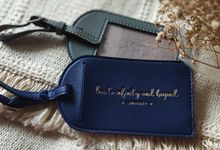 Luggage Tag For Ms. Vivi by Wondrous Gift and Favor