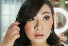 Airbrush Test Makeup - Ms Aisya by Febreen Makeup Studio