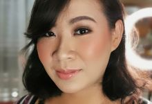 Airbrush Test Makeup - Ms Aisya by Febreen Makeup Studio