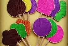 Kipas Pandan Polos by erica craft