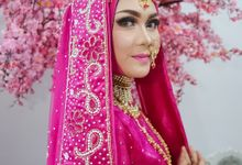 Gaun Pengantin Hijab India by Griya Pengantin Andika Puri