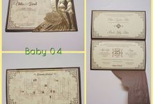 Album Baby by Vistal Invitation