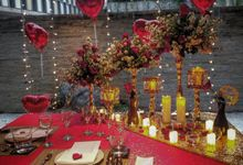 Valentine For Hotel Indonesia Kempinsky Bali Room by Nuansa Alam Dekorasi
