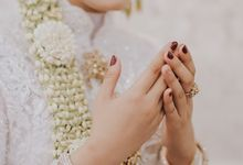 Wedding Nails by Selvy Nails