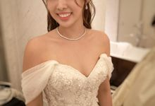 Bride Michelle ❤️ by Shino Makeup & Hairstyling