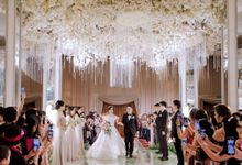 the Wedding of Olive & Billy by Yumi Katsura Signature